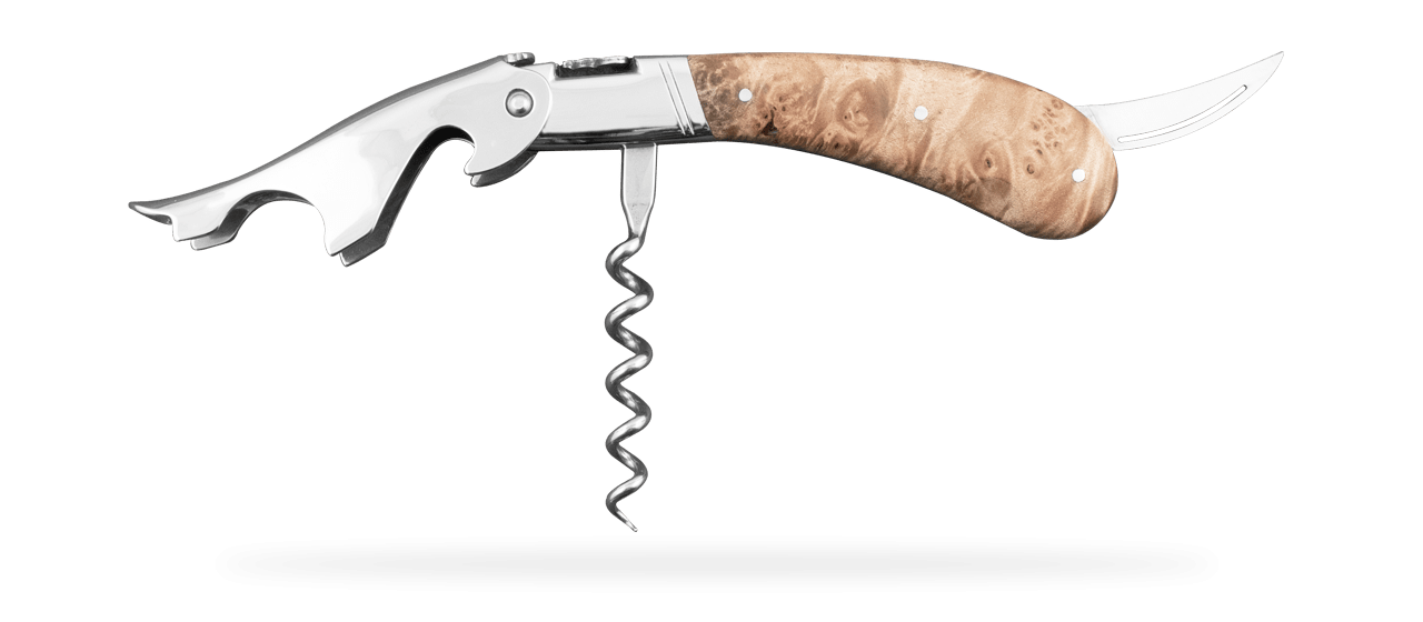 Laguiole Magnum Corkscrew Maple Burl
