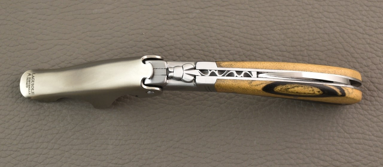 Laguiole Magnum Royal Ebony corkscrew
