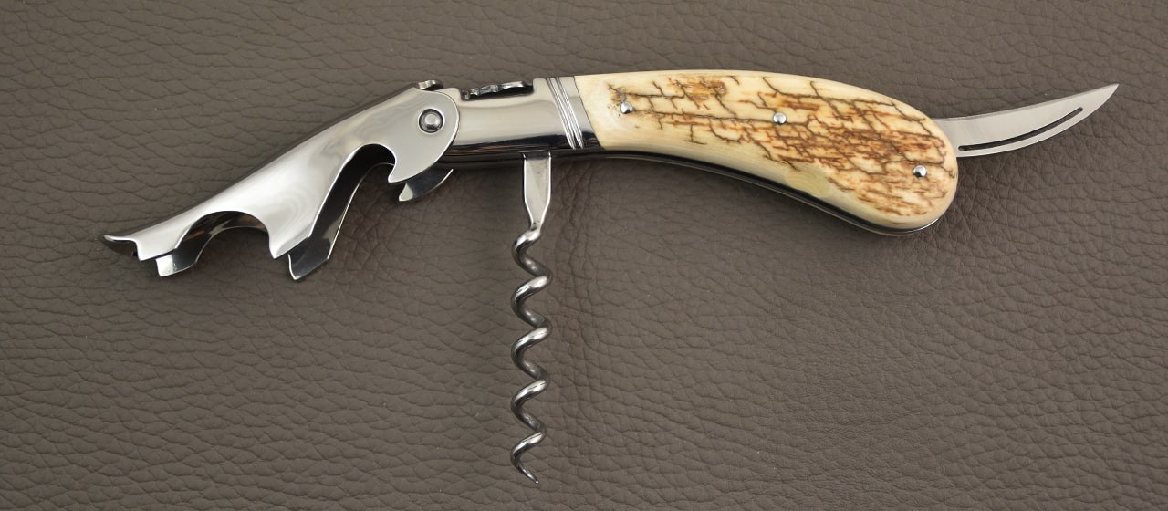 Laguiole Magnum Brown fossilized Mammoth